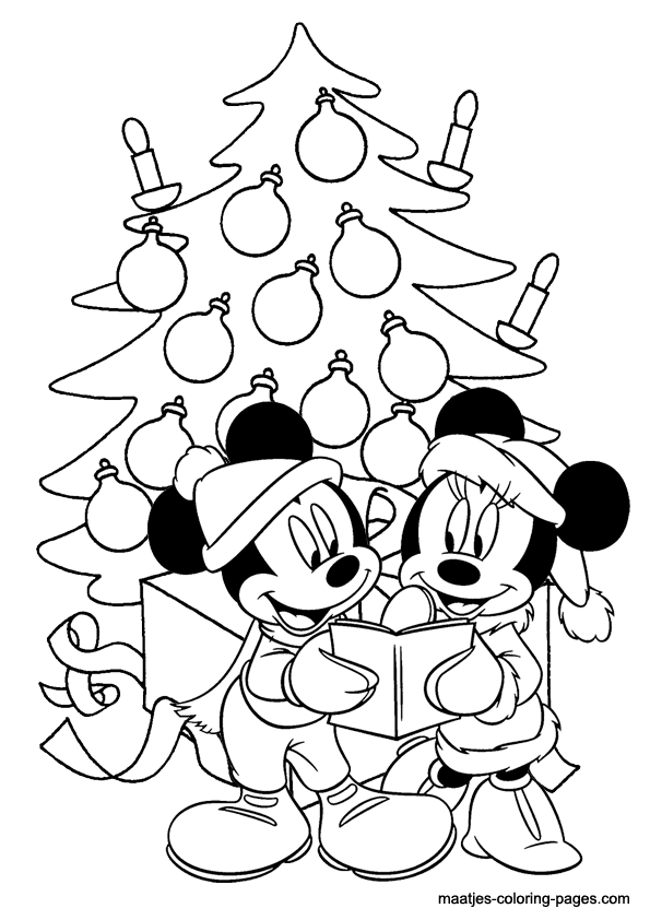 15+ Christmas Pictures To Color