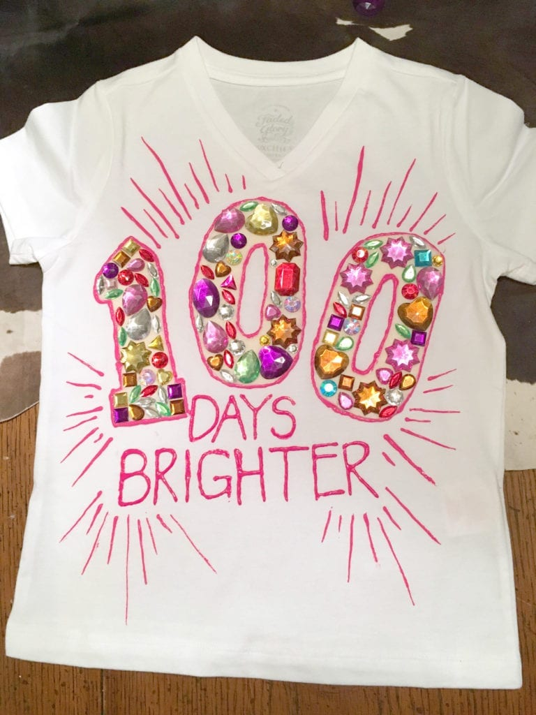 Easy 100 Days of School Shirt Ideas - Happiness is Homemade 9e8716d6def