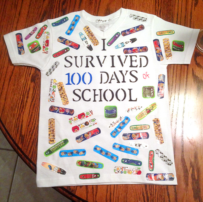 Roblox Template School Easy 100 Days Of School Shirt Ideas Happiness Is Homemade