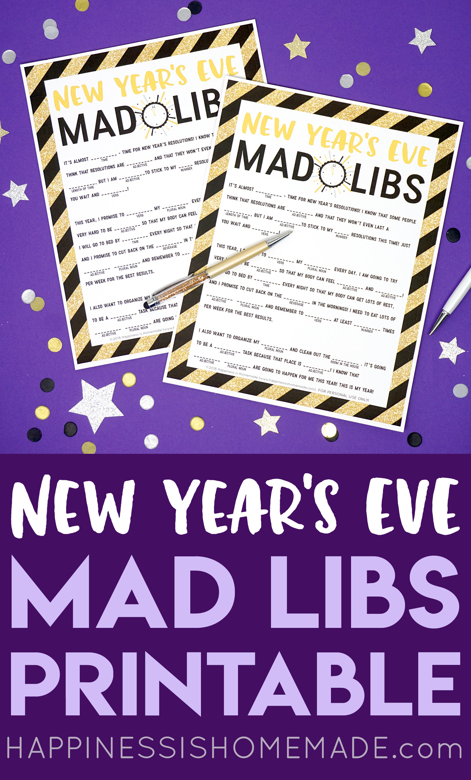 pin the new years eve mad libs for later