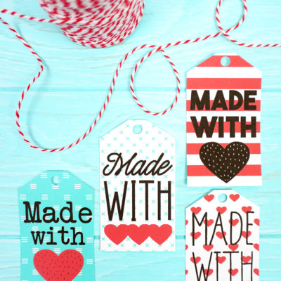 Made with Love Printable Gift Tags