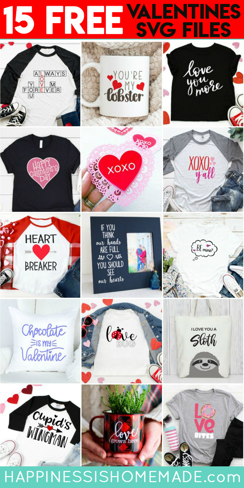 Heartbreaker Shirt Free Valentine S Day Svgs Happiness Is Homemade