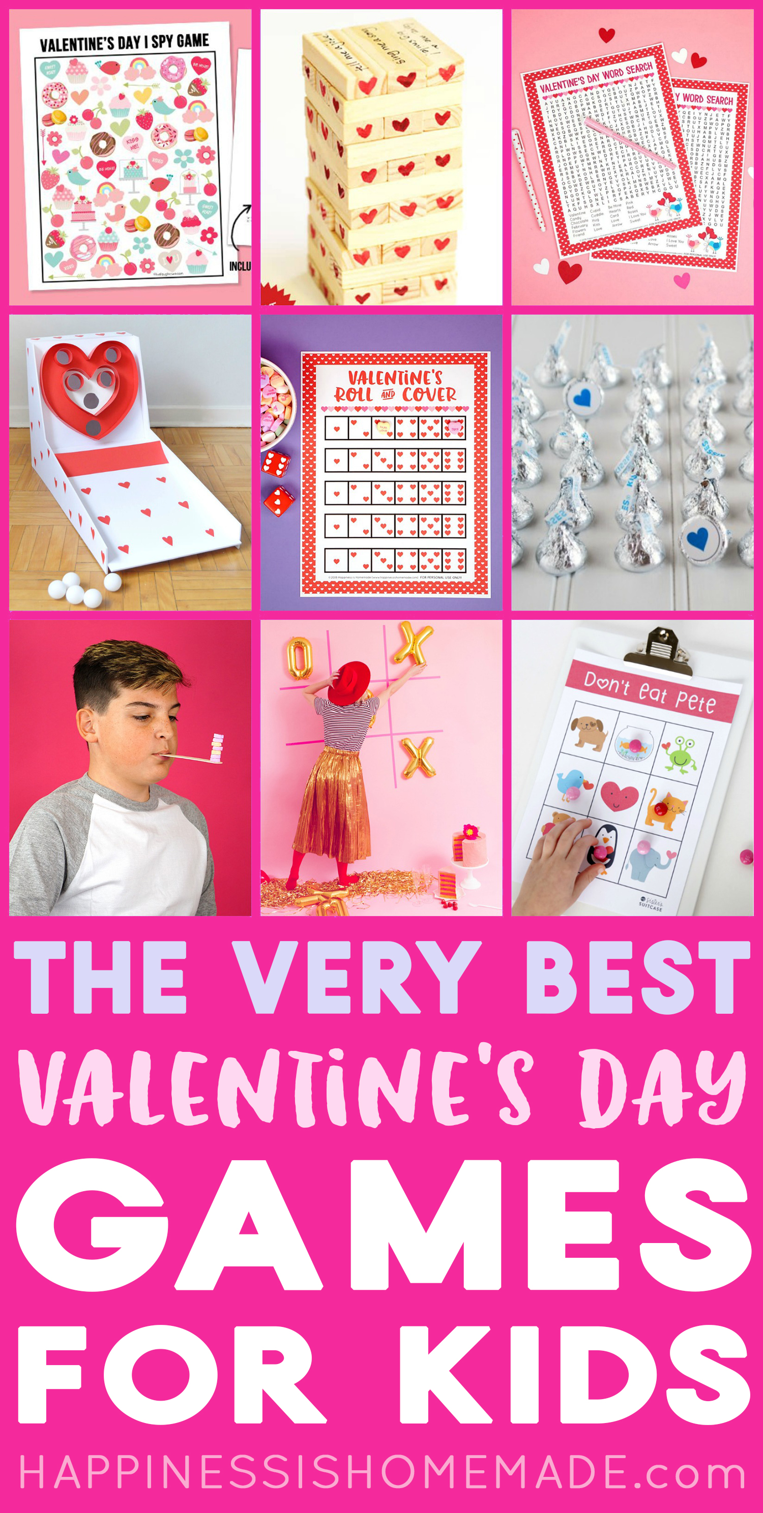 30 Fun Valentine Games For Kids Of All Ages Happiness Is Homemade