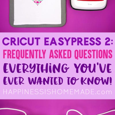 Cricut EasyPress 2: Frequently Asked Questions