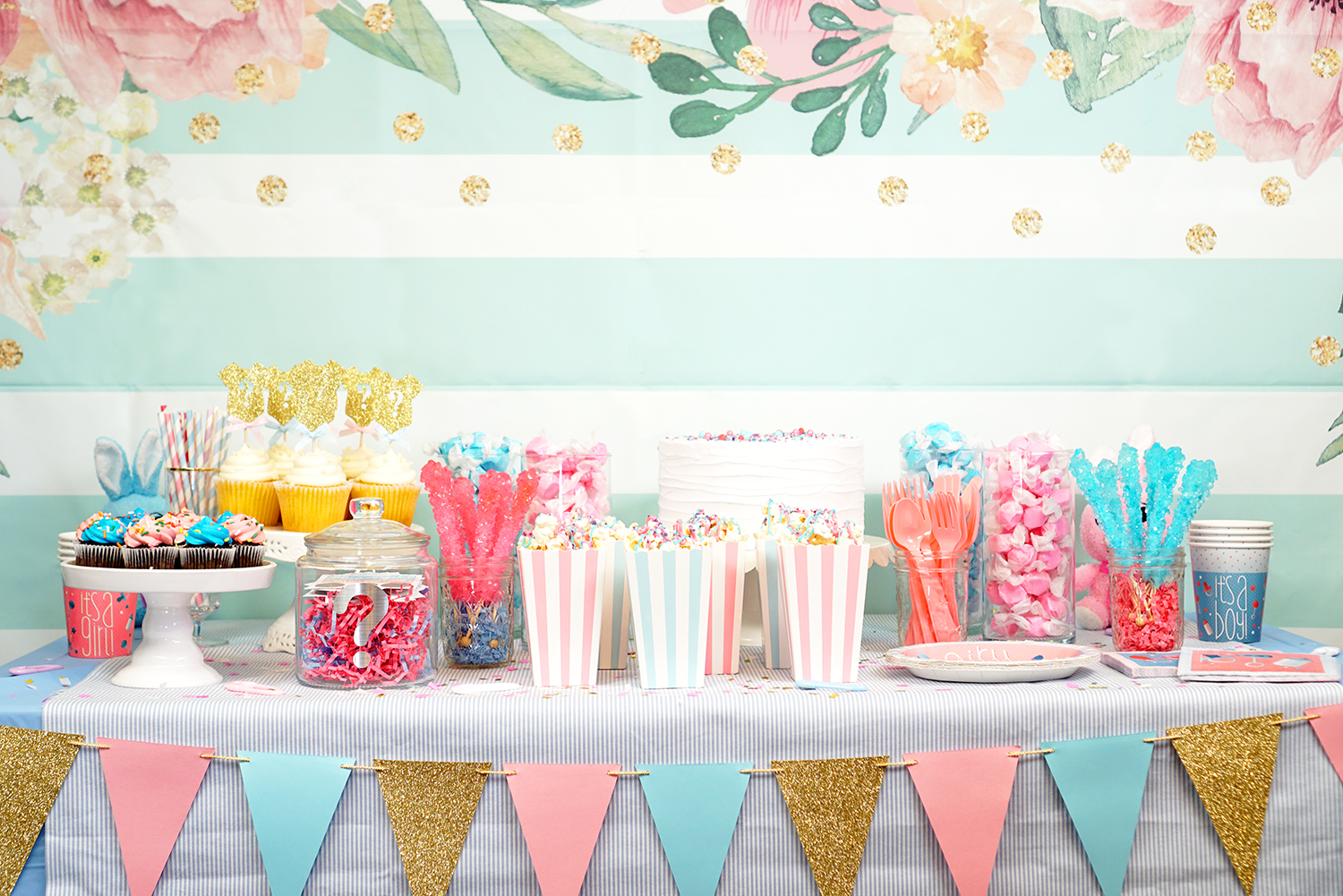 Gender Reveal Party Ideas , Happiness is Homemade