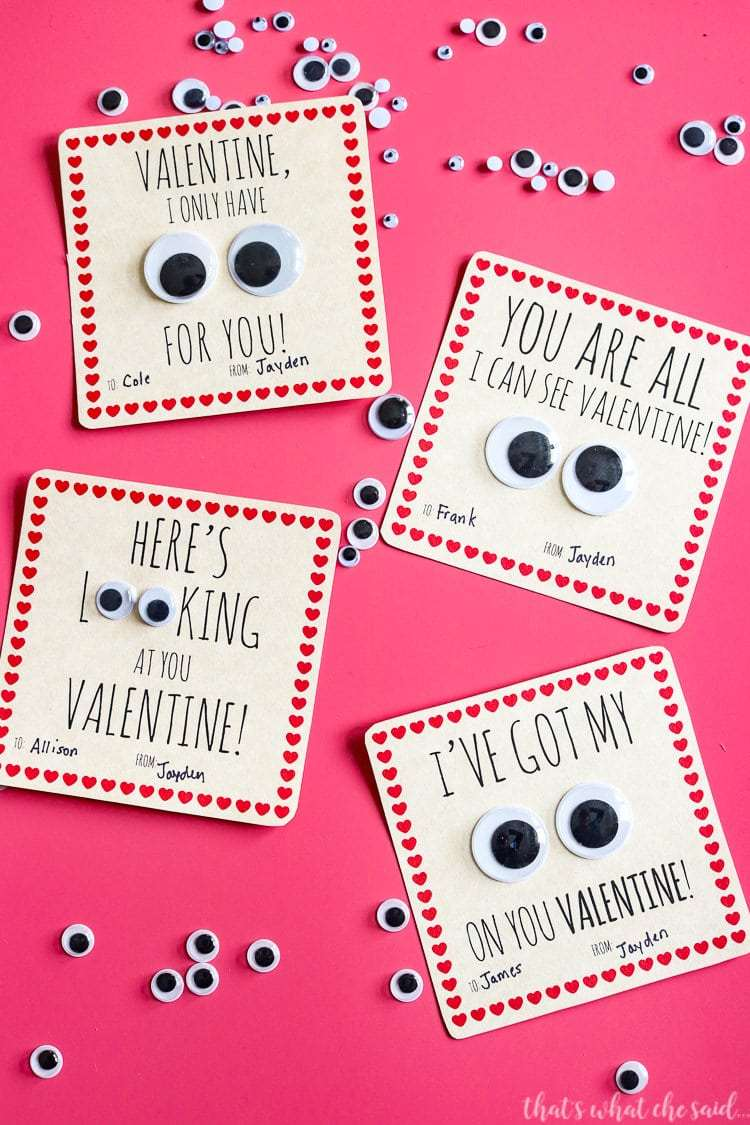 photo about Valentine Printable known as 30+ Absolutely free Printable Valentine Playing cards - Pleasure is Do-it-yourself