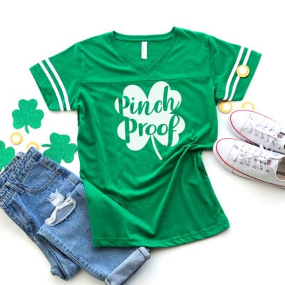 """Pinch Proof"" St. Patrick's Day Shirt + SVG Files"