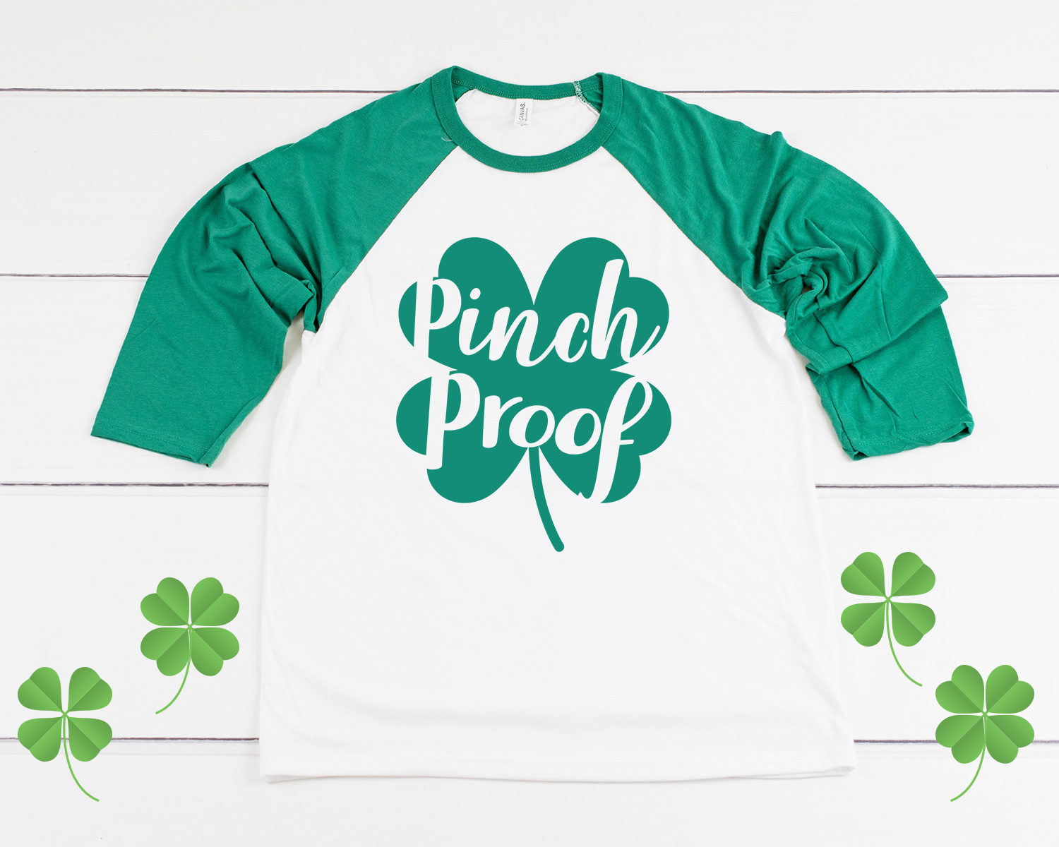 3893833a ... St. Patrick's Day, and it's easy to achieve with these cute DIY green  shirts and hats! This fun unisex design is perfect for girls and boys of  all ages!