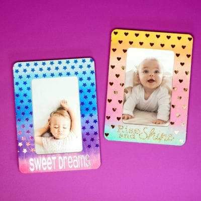 DIY Watercolor Picture Frames
