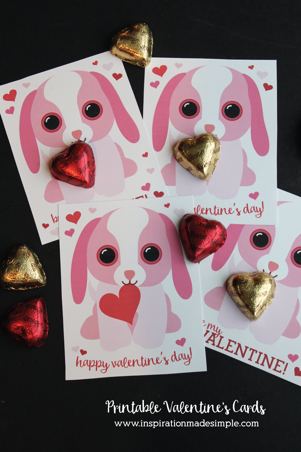 30+ Free Printable Valentine Cards - Happiness is Homemade