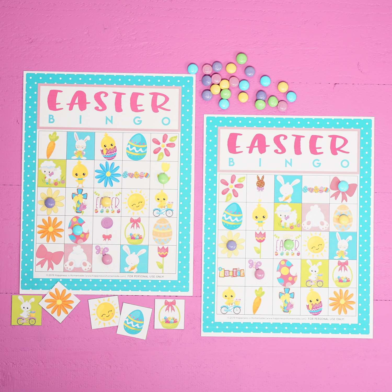 picture about Free Printable Easter Bingo Cards identified as Absolutely free Printable Easter Bingo Recreation Playing cards - Joy is Home made