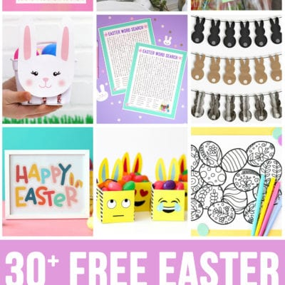 30+ Totally Free Easter Printables