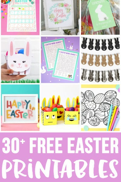 Free Easter Printables for Spring