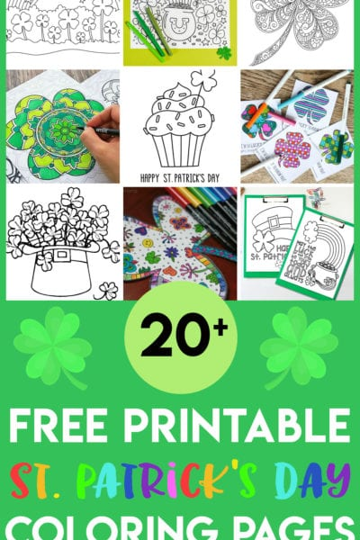 Free Printable St Patrick's Day Coloring Pages