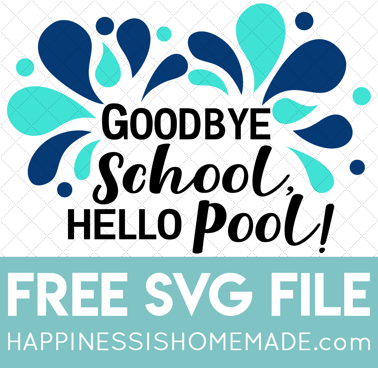 Free Teacher Svgs For The Last Day Of School Happiness Is Homemade