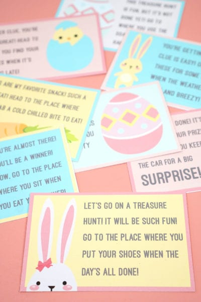 Printable Easter Scavenger Hunt Game