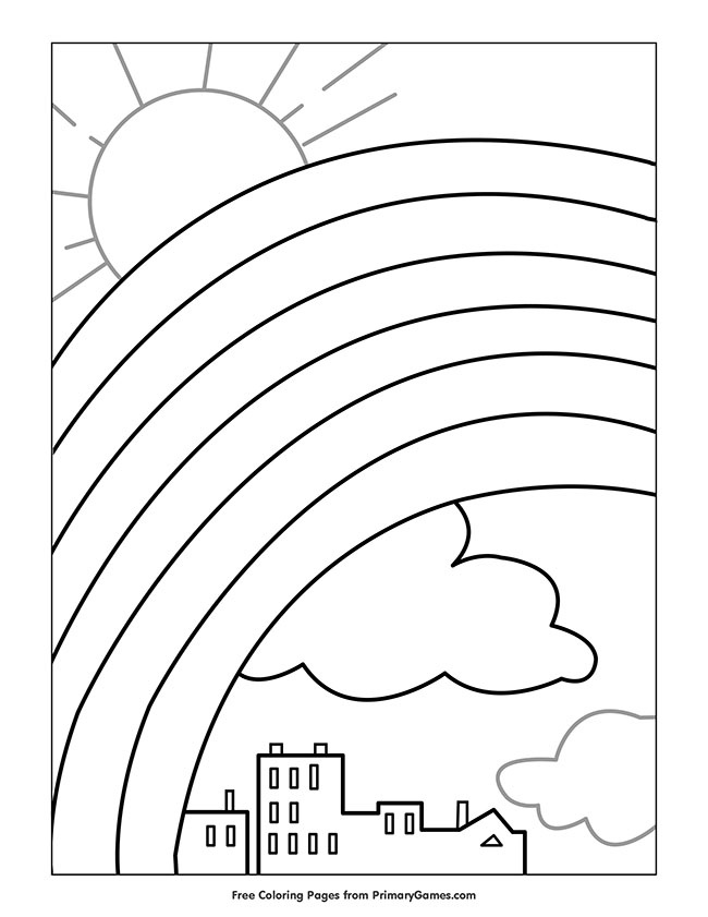 Free St. Patrick's Day Coloring Pages - Happiness is Homemade | 841x650
