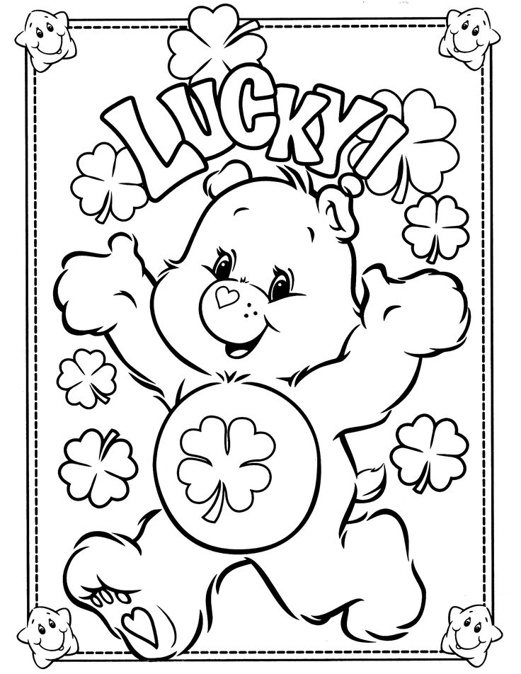 - Free St. Patrick's Day Coloring Pages - Happiness Is Homemade