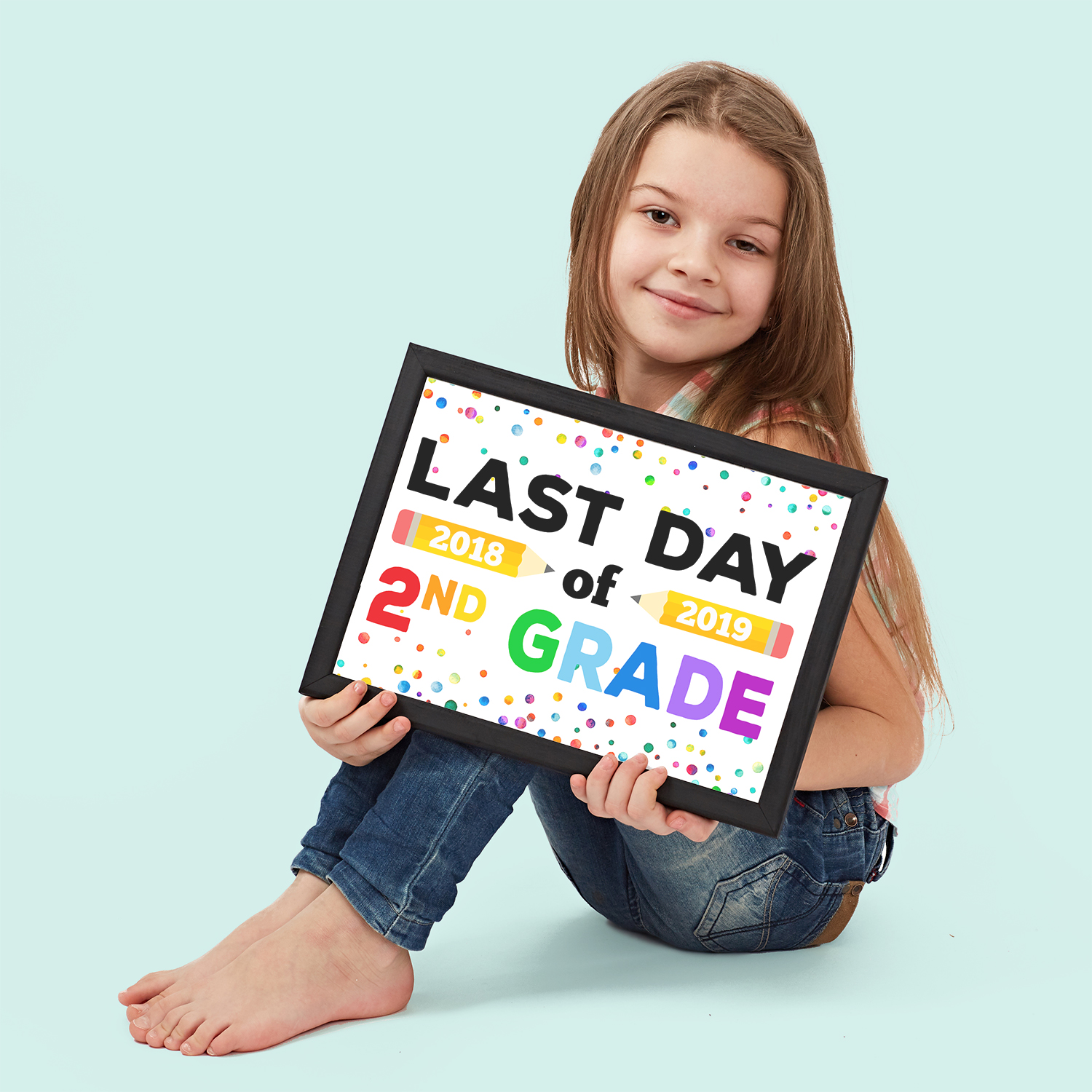 image about Last Day of 2nd Grade Printable identified as Ultimate Working day of College or university Symptoms - Free of charge Printable - Contentment is