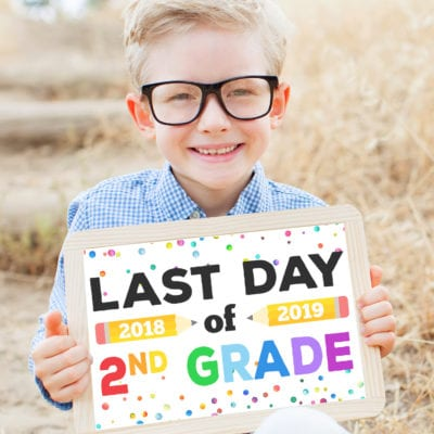 Last Day of School Signs – Free Printable
