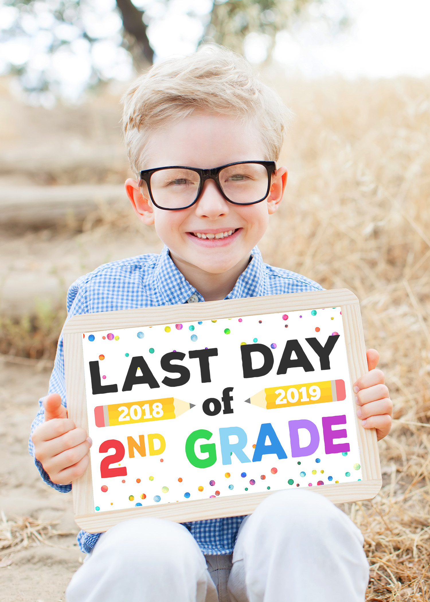 photograph about Last Day of School Printable named Final Working day of College or university Signs or symptoms - Free of charge Printable - Joy is