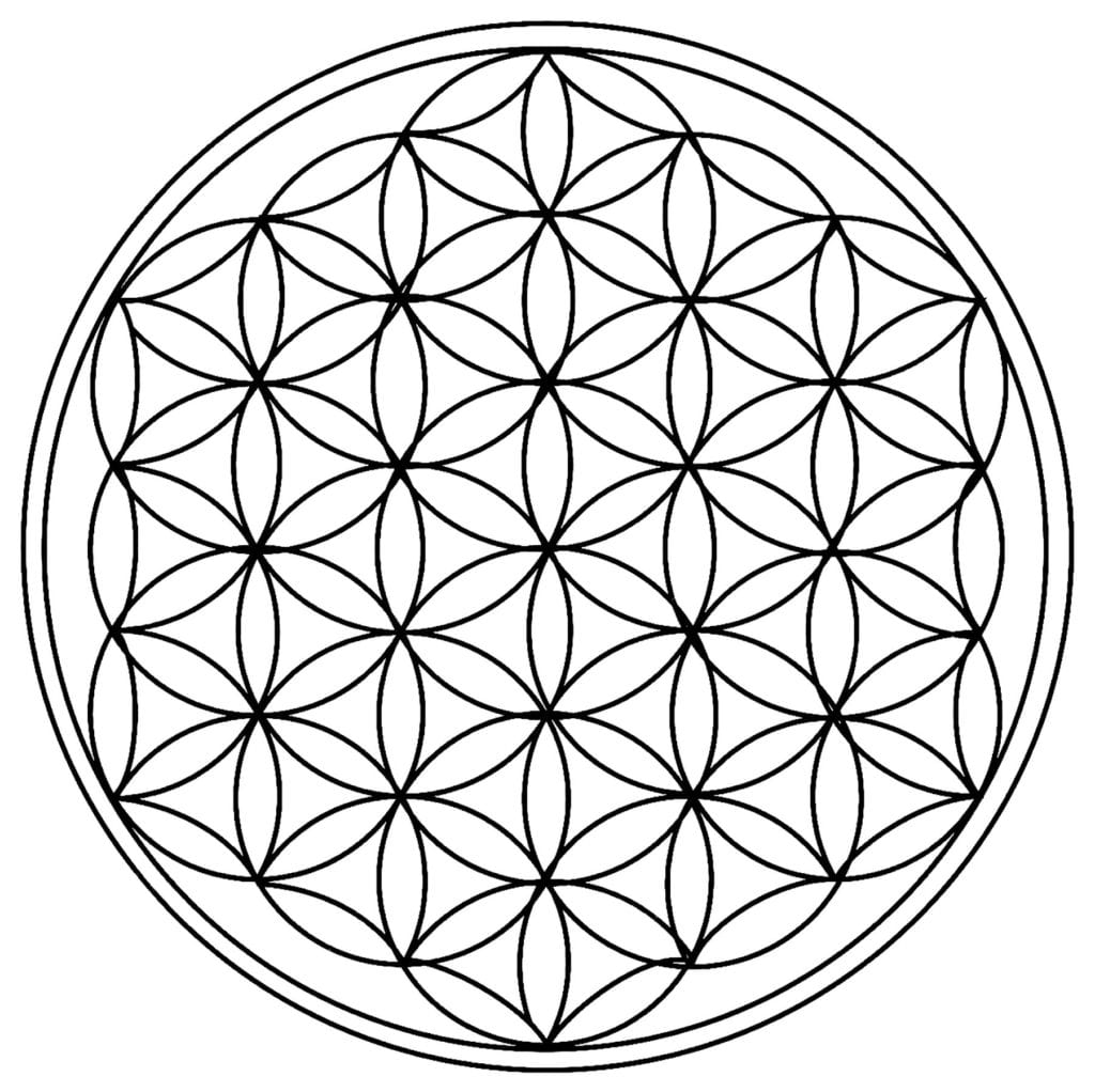 Mandala Coloring Pages for Adults & Kids - Happiness is ...