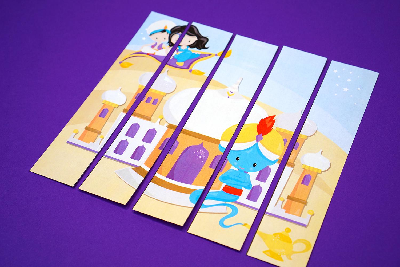 Aladdin Puzzle - preschool printables