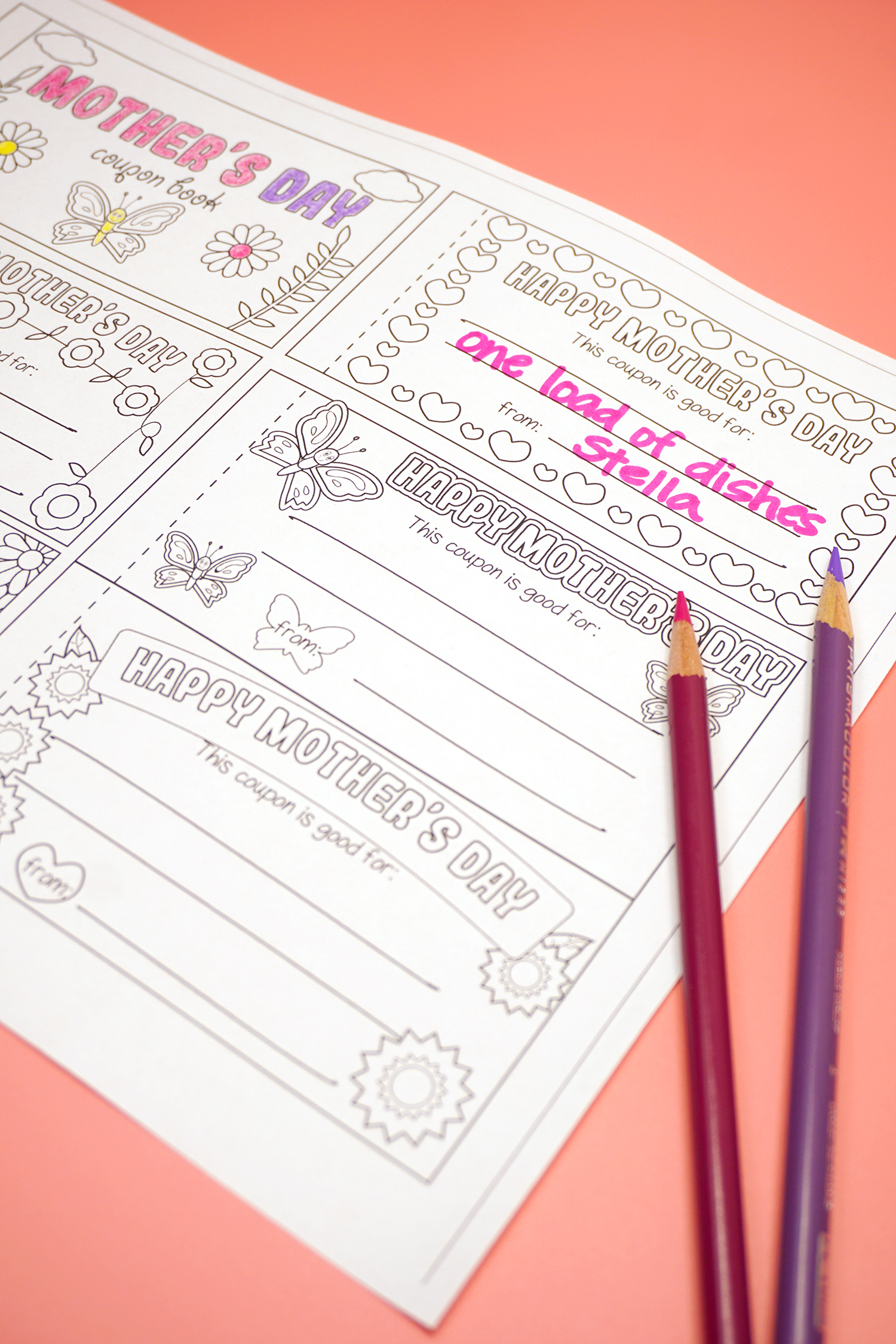 Free Printable Mother S Day Coupons Happiness Is Homemade