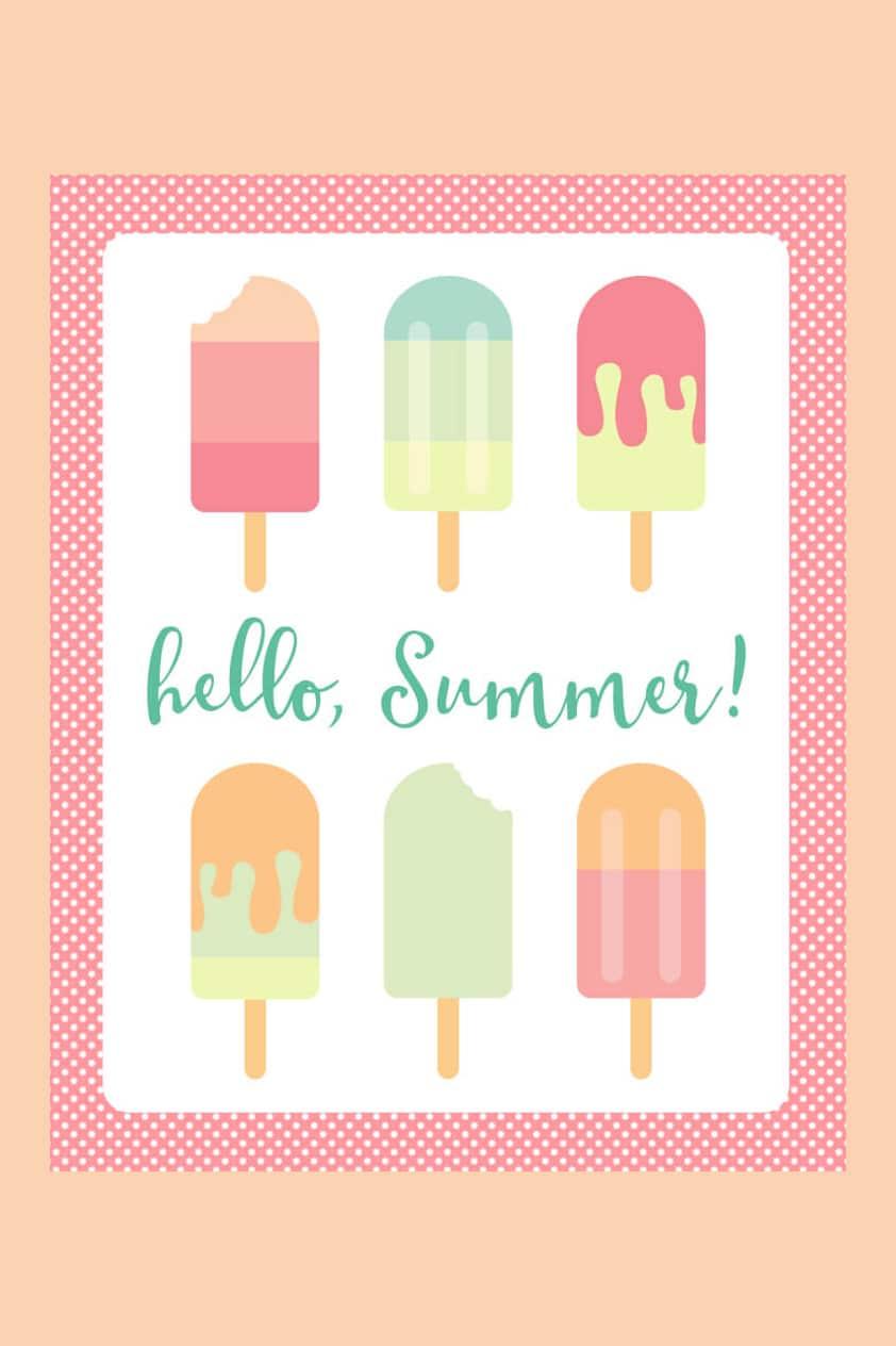 Hello-Summer-Popsicle-Printable-Art