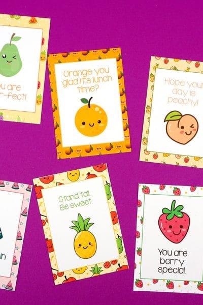Super Cute Lunch Box Notes