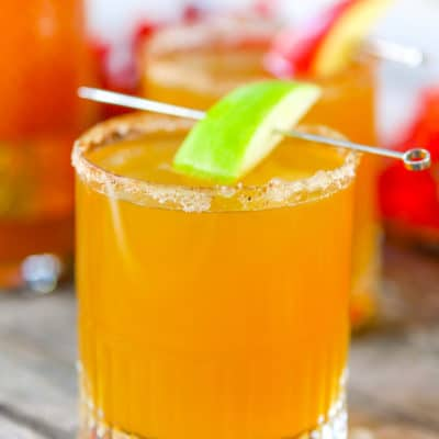 Spiced Apple Cider Mimosas