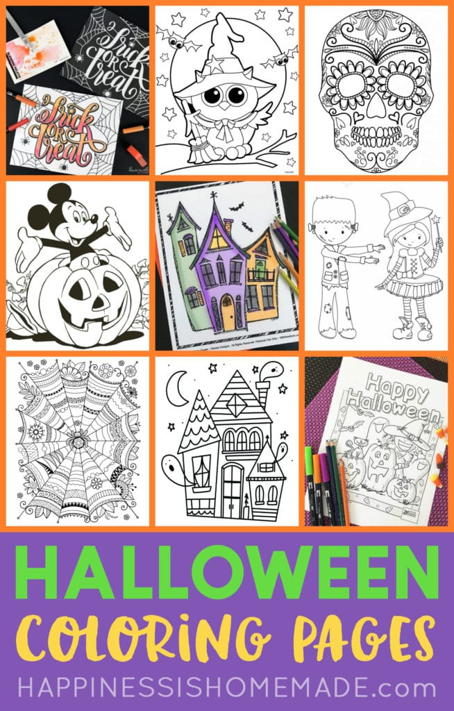 - FREE Halloween Coloring Pages For Adults & Kids - Happiness Is Homemade