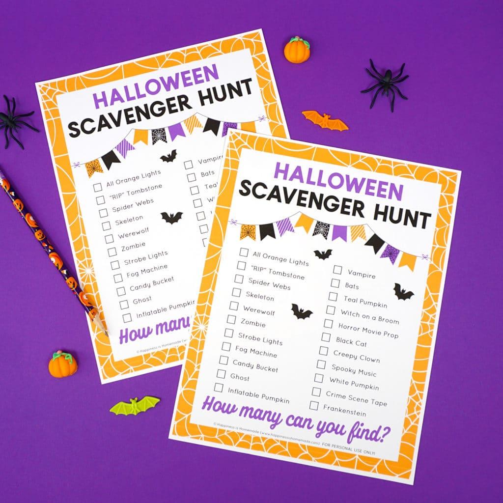 IG Halloween Scavenger Hunt 1024x1024