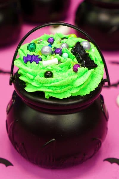Halloween Witch Cauldron Bath Bombs