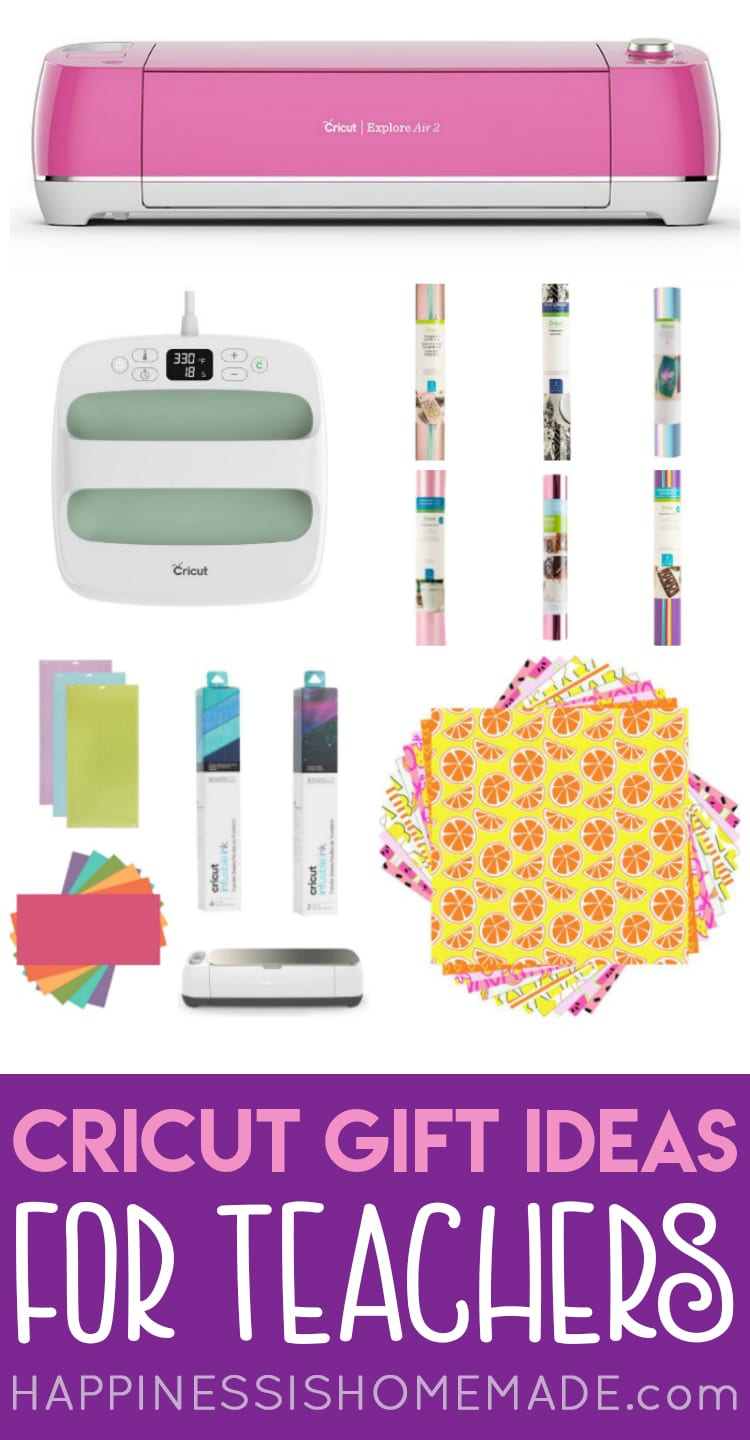 Cricut Gift Guide For Teachers Happiness Is Homemade