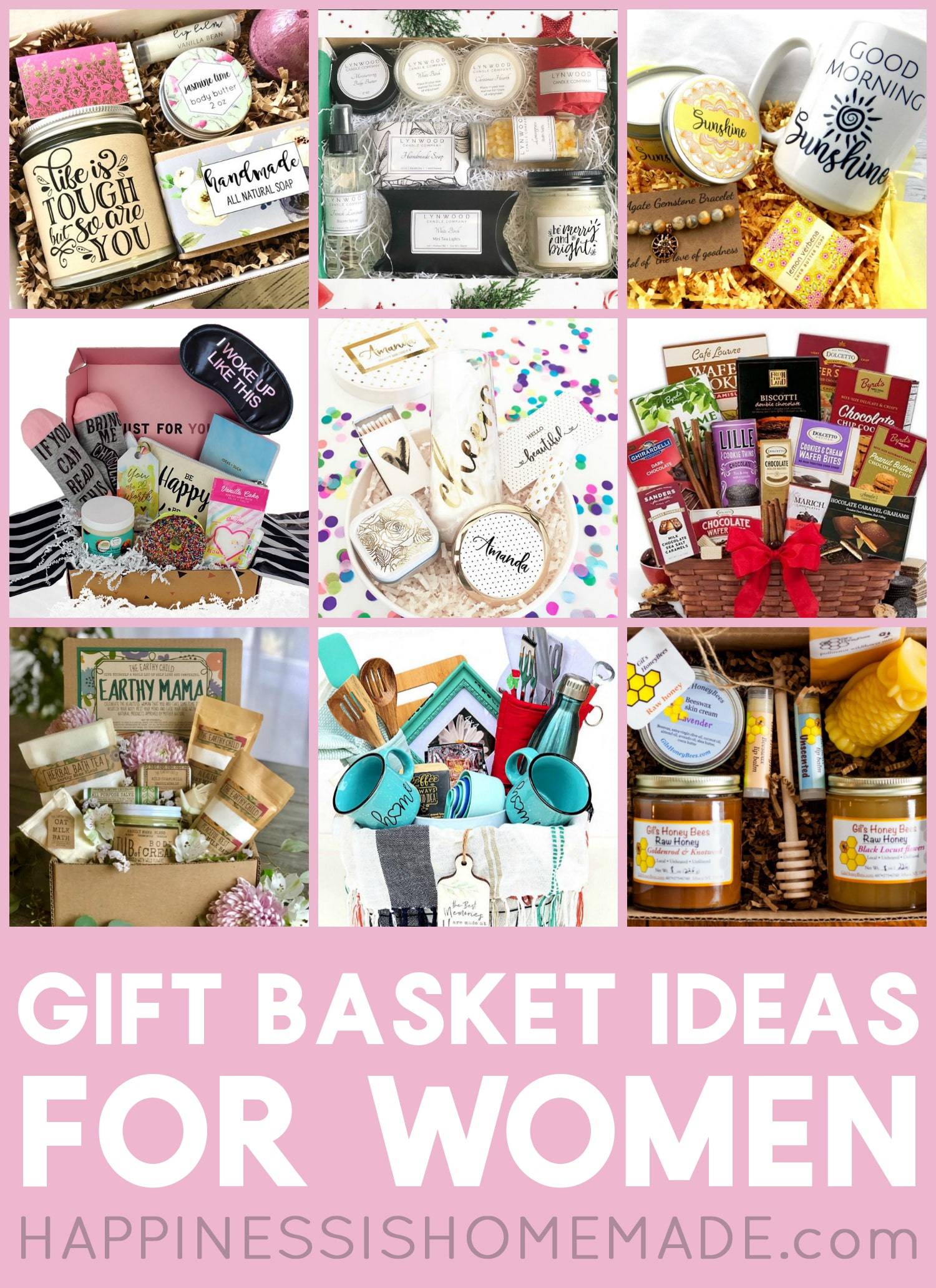 Gift Baskets for Women - Happiness is Homemade