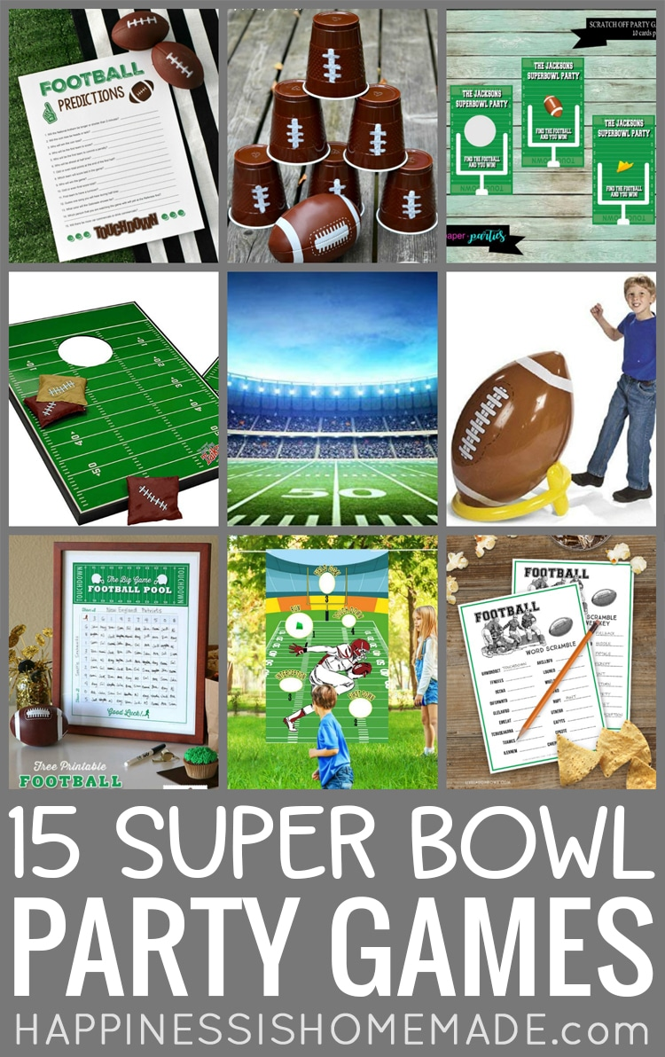 15 Super Bowl Party Games