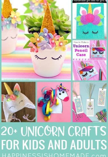 20+ Unicorn Crafts For Kids