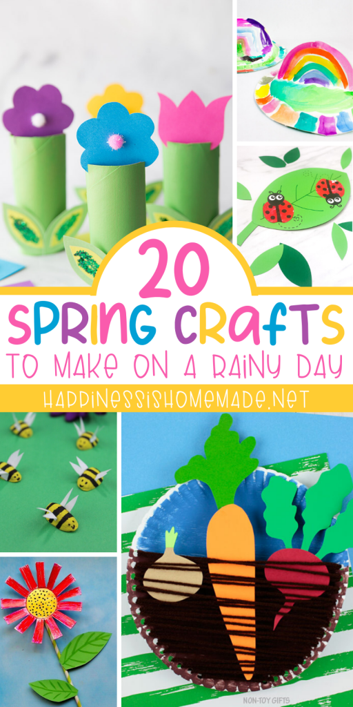 20 super fun and easy Spring crafts for kids