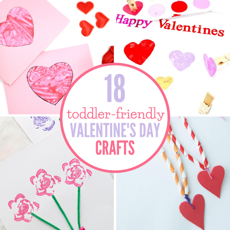 Valentine Crafts For Toddlers Happiness Is Homemade