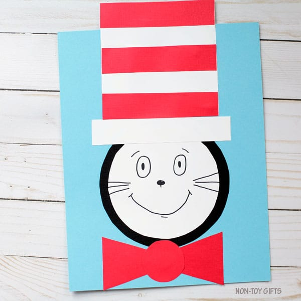 Dr Seuss Crafts For Kids Happiness Is Homemade