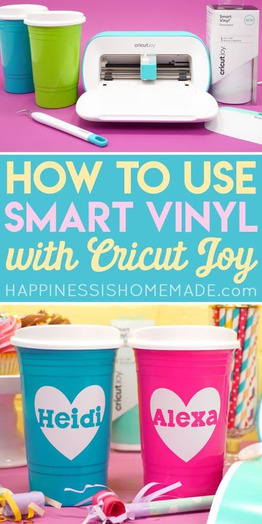 How To Use Cricut Smart Vinyl With Cricut Joy Happiness