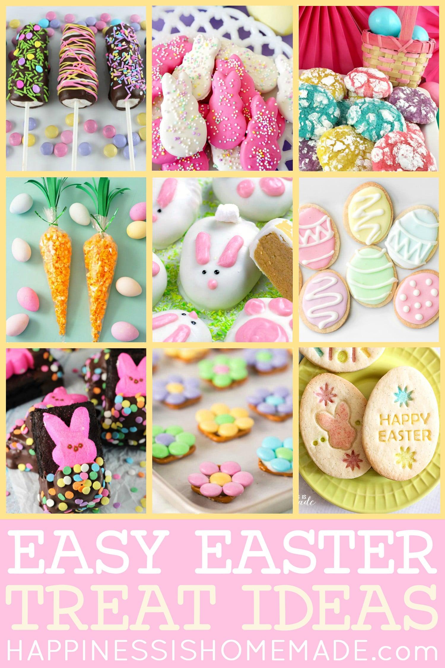 25 Easy Easter Treat Ideas