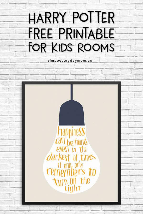 25 Free Harry Potter Printables Happiness Is Homemade