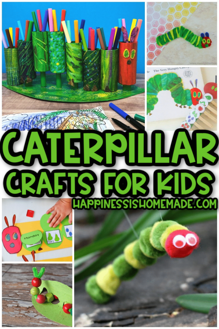 Caterpillar Crafts for Kids