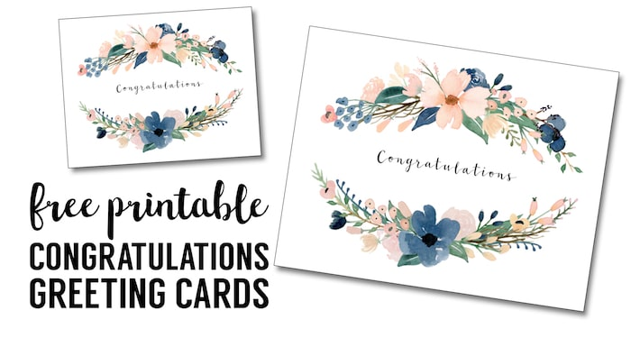 20 Printable Graduation Cards For 2020 Happiness Is Homemade