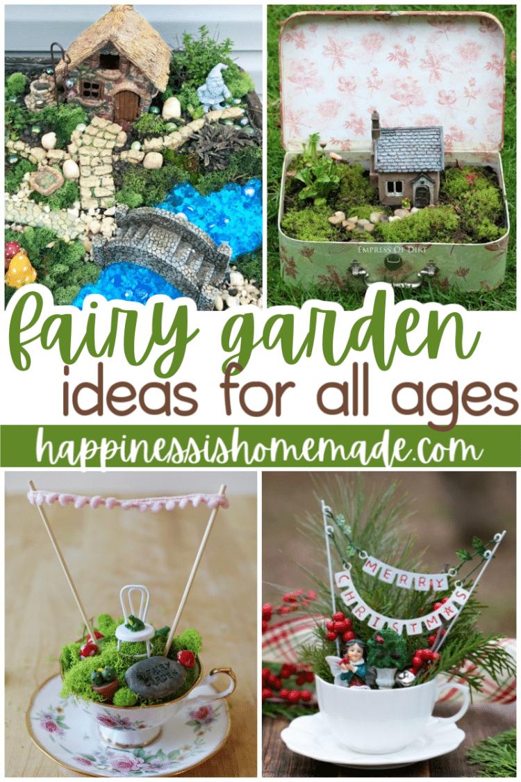 20 Diy Fairy Garden Ideas Happiness Is Homemade