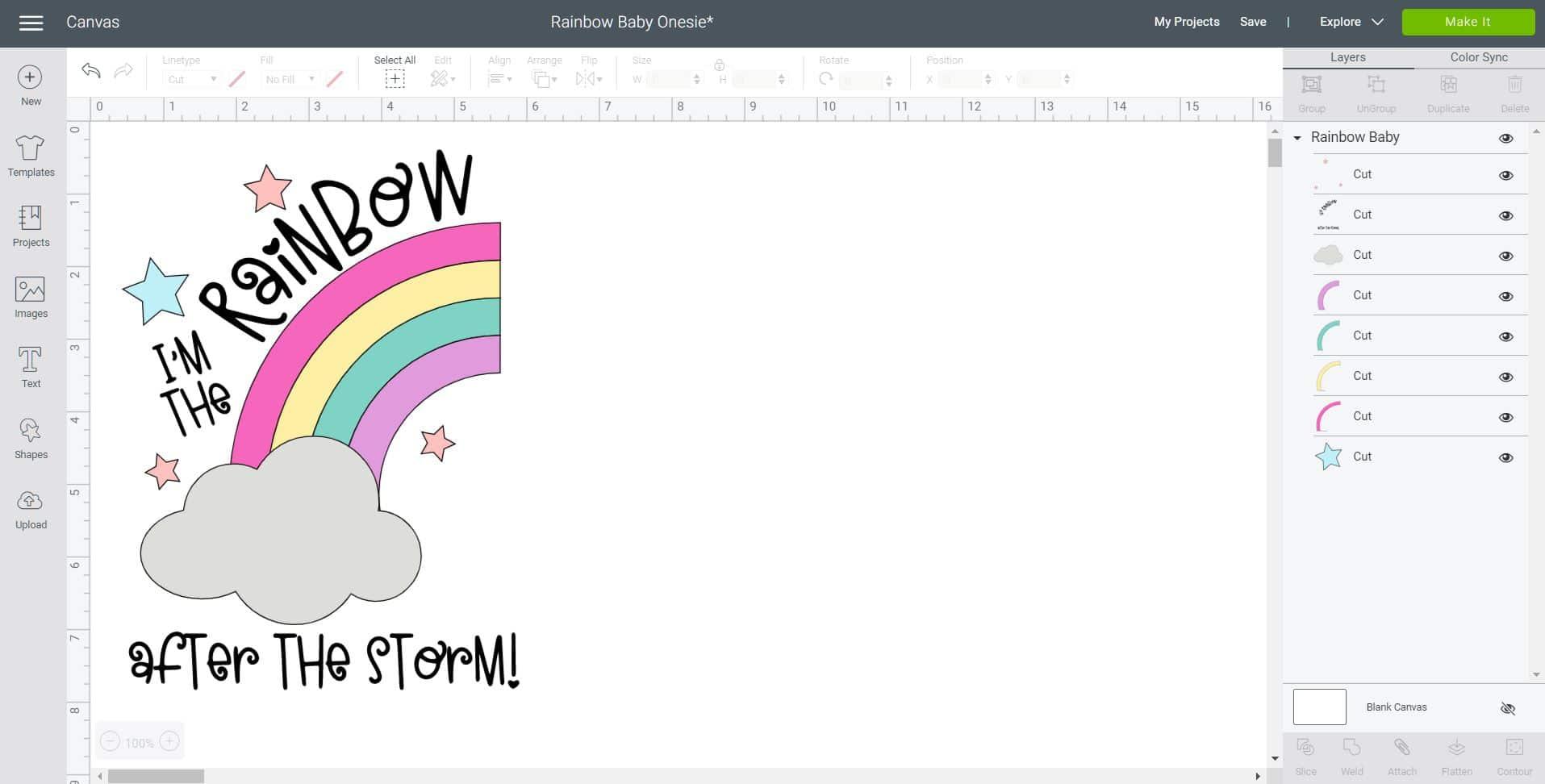 Rainbow Baby Onesie Baby Shower Svg Files Happiness Is Homemade