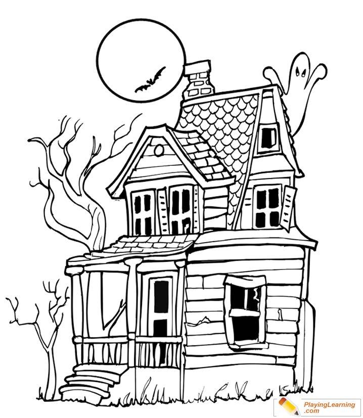 Halloween Coloring Pages - Etandoz