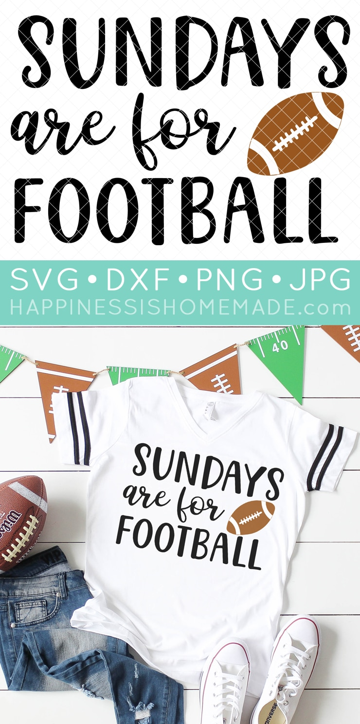 14 Free Football Svg Files Happiness Is Homemade